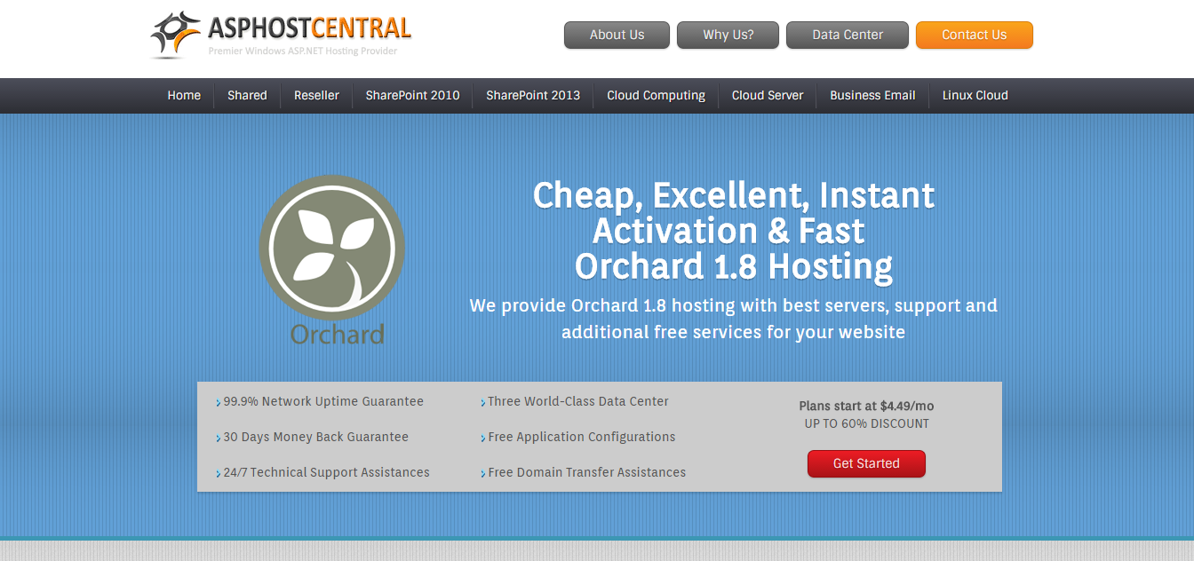 Best Orchard Hosting with Fast Loading Speed