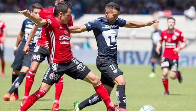 Pumas vs Tijuana en vivo online Liga MX 10 setiembre