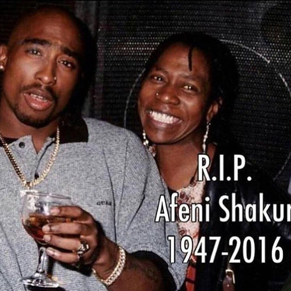tupac mum died may her soul rest in peace