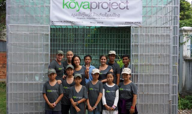 L'équipe du kōyaproject avec Shanty Town Spirit