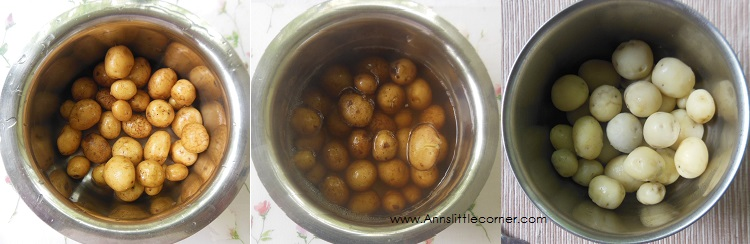 How to make Punjabi Dum Aloo- Step 1