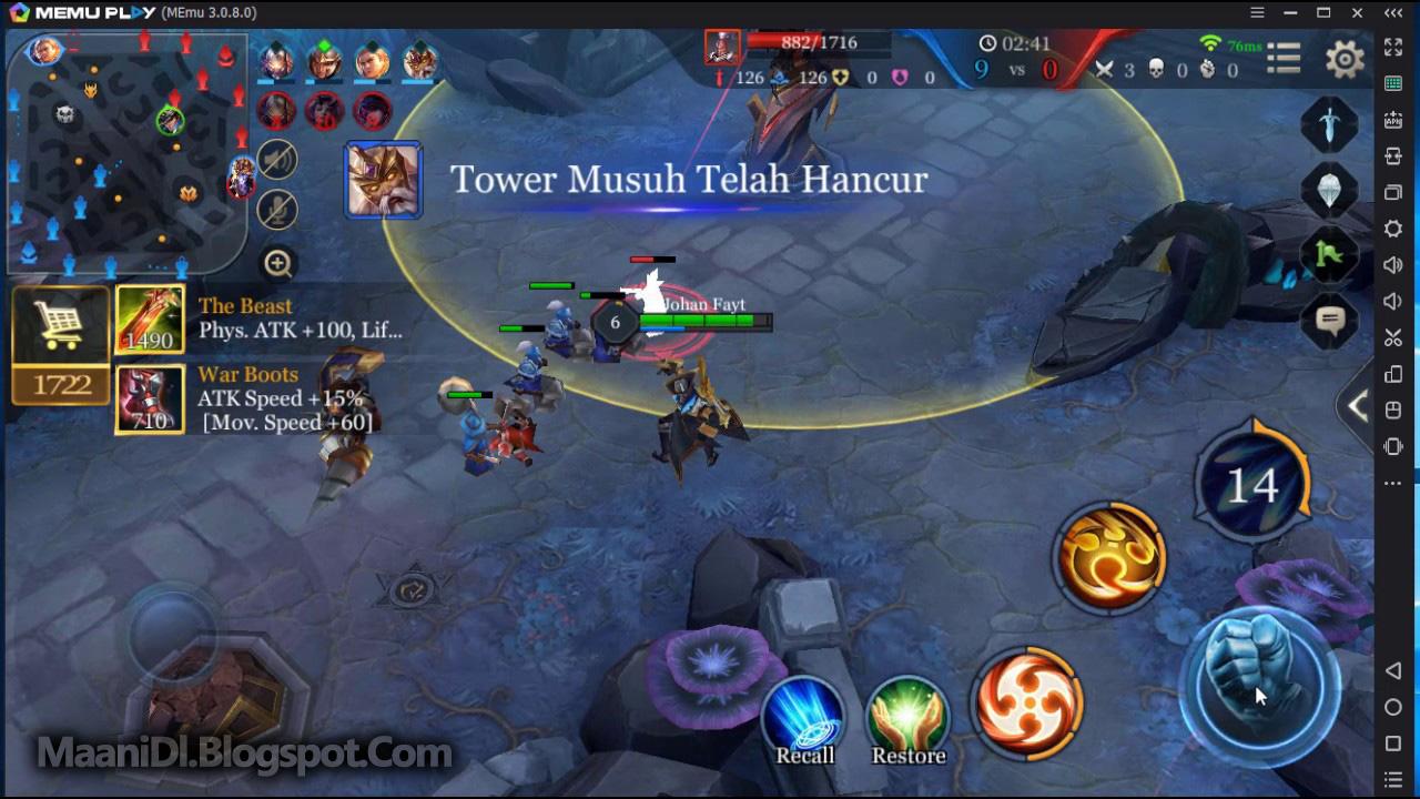 apk4fun: Mobile Arena - Action MOBA v1 15 8 1 MOD Apk For