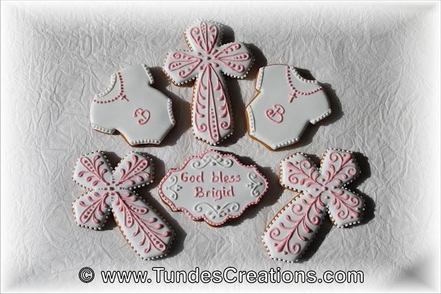 Baptism cookies by Tunde Dugantsi