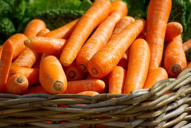 alimentos con beta caroteno