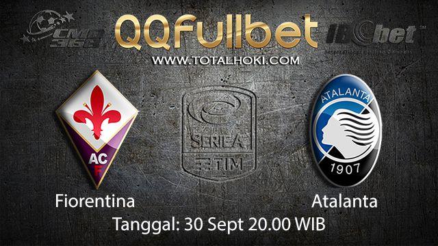 Prediksi Bola Jitu Fiorentina vs Atalanta 30 September 2018 ( Italian Serie A )