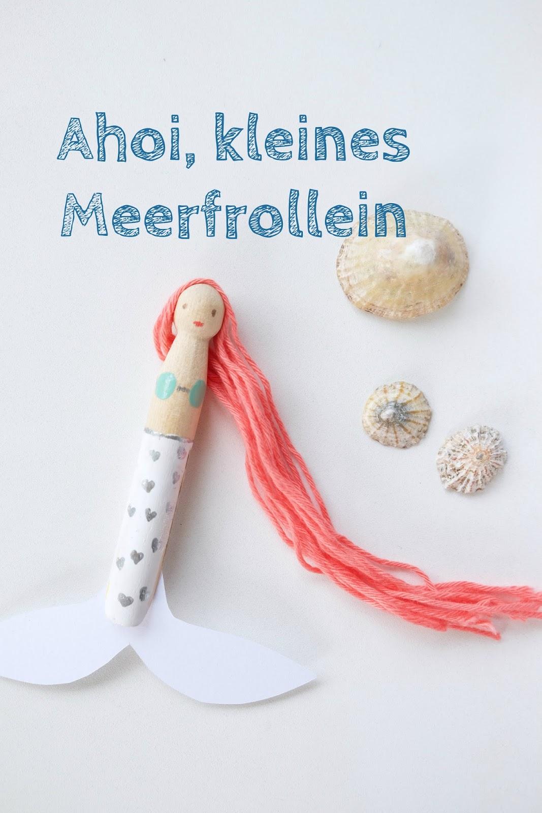 Hej Hanse Basteln Mit Kindern Kleine Meerfrolleins