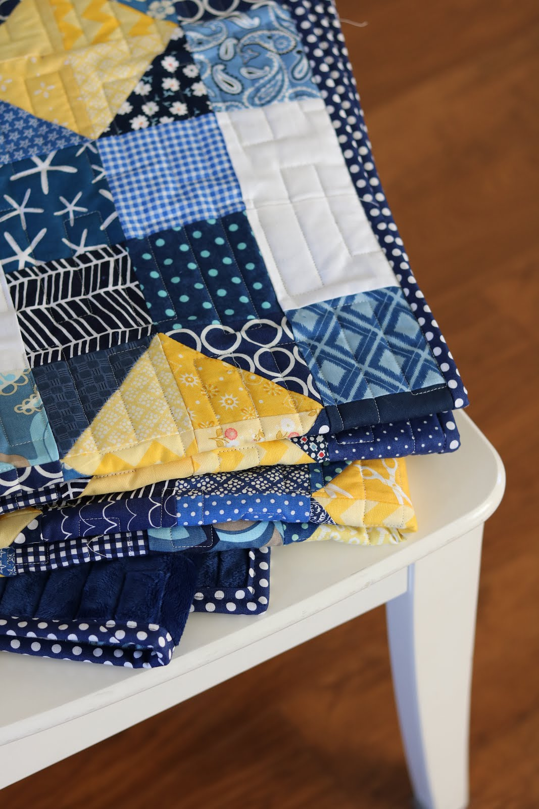 A Bright Corner Second Look Sunday Scrappy Susannah Quilt