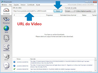 Download do VÍdeos do YouTube com o VDownloader