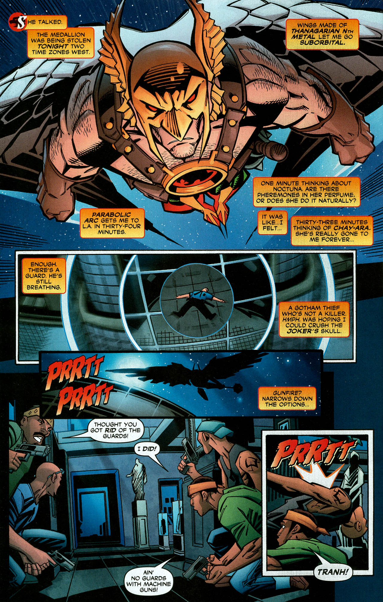 Read online Trinity (2008) comic -  Issue #6 - 22