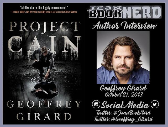 Geoffrey Girard Author Interview Jean Booknerd