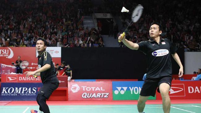 Pebulu Tangkis Ahsan Dan Hendra Melaju Ke Final Indonesia Masters 2019Pebulu Tangkis Ahsan Dan Hendra Melaju Ke Final Indonesia Masters 2019
