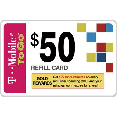 Free $50 Refill Card with $100 Phone Purchase at T-Mobile ...