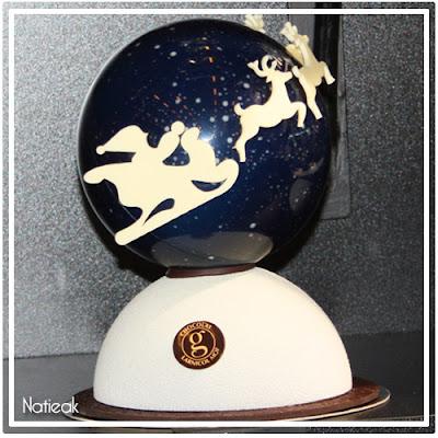 Nuit étoilée en chocolat de Georges Larnicol