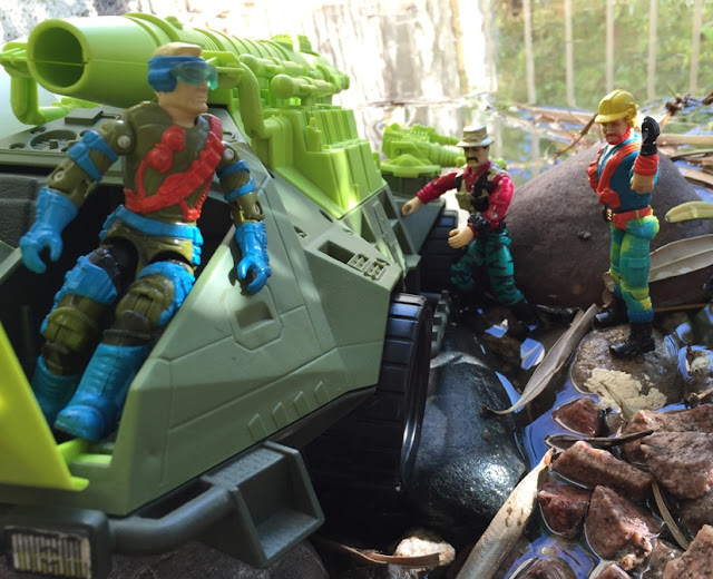 1993 Monster Blaster APC, Mega Marines, Mirage, Bazooka, Outback, Eco Warriors Variant