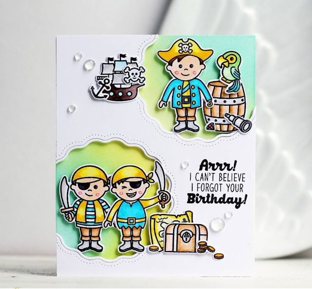 Sunny Studio Stamps: Sunny Saturday Customer Card Share by Olga Moss