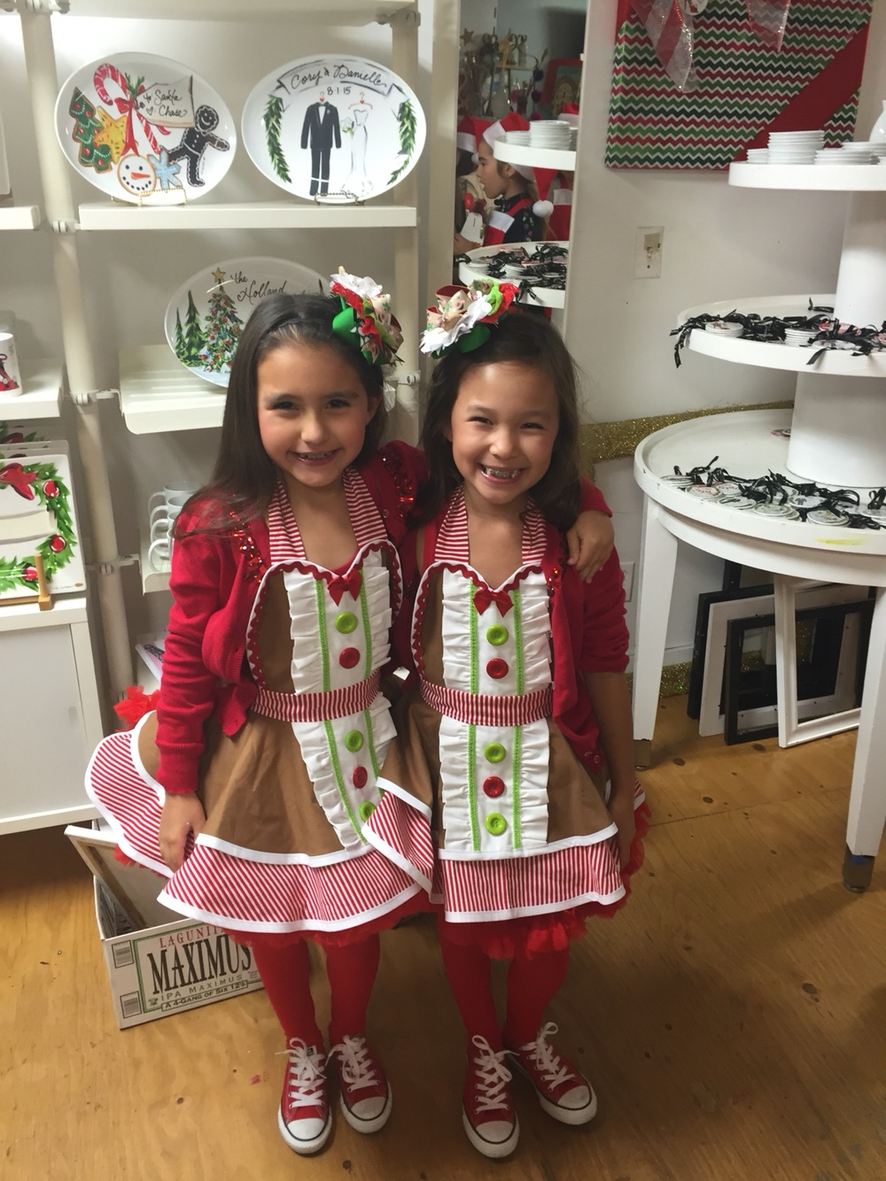 Christmas Apron Fabric Inspiration by Bambino Amore - The Apron Makers