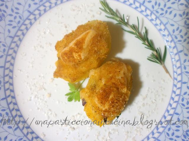 Patate Ripiene di Mortadella