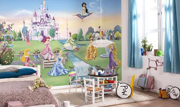 barntapet fototapet barn rum barntapet prinsess tapet tjejtapet