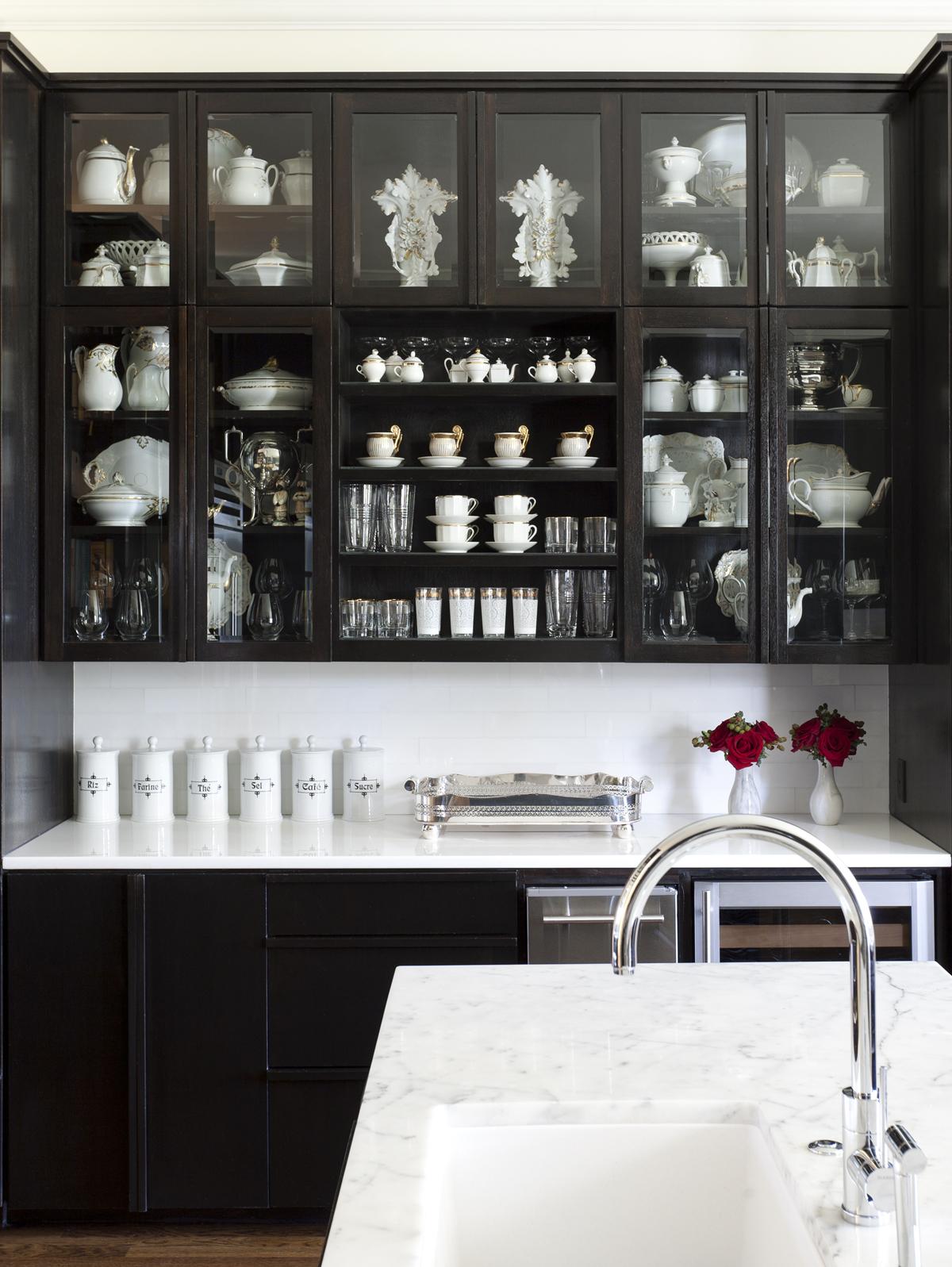 Bye Bye White Hello Dark Kitchen Cabinets Nbaynadamas
