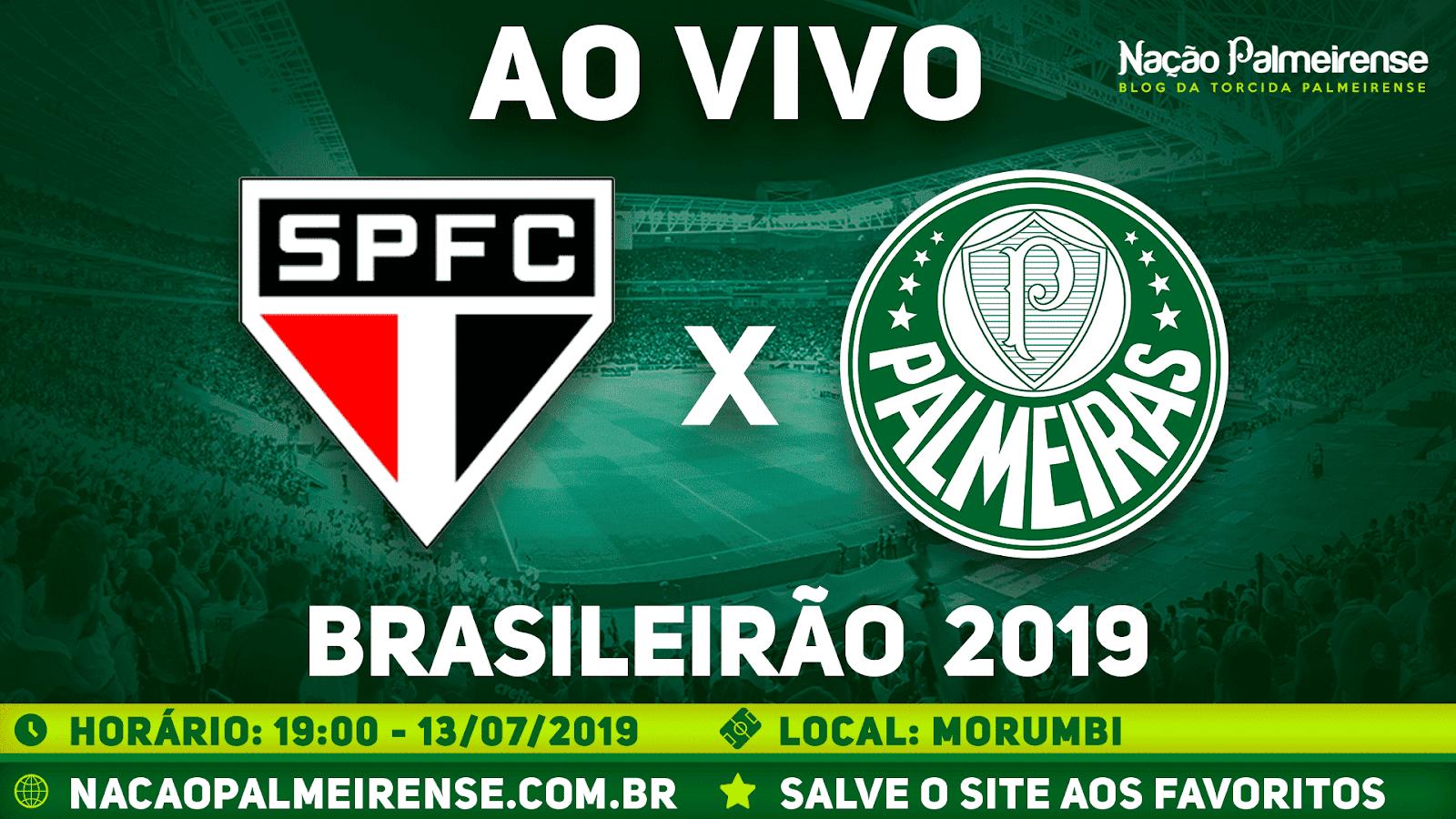 Assistir São Paulo x Palmeiras Ao Vivo