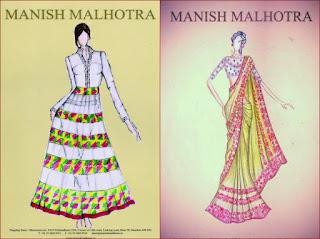 MANISH MALHOTRA, MANISH MALHOTRA designs