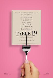 cine, película, cartelera, mesa 19, table 19, nos vamos al cine, comedia, anna kendrick, bodas,
