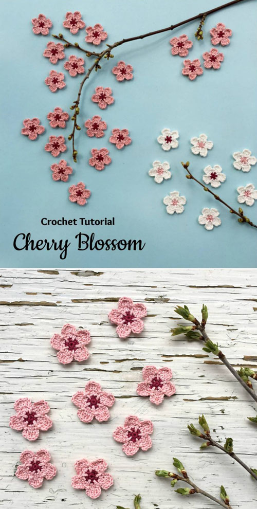 Cherry Blossom - Free Pattern & Tutorial