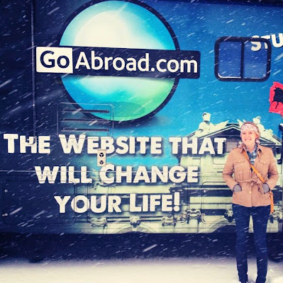 Tiffany Harrison, GoAbroad Bus