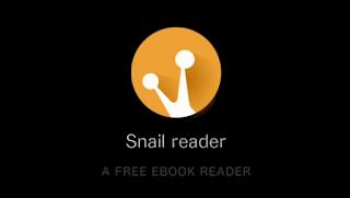 تطبيق Snail reader عربي لقرائة وتصفح الكتب الالكترونية pdf مجانا