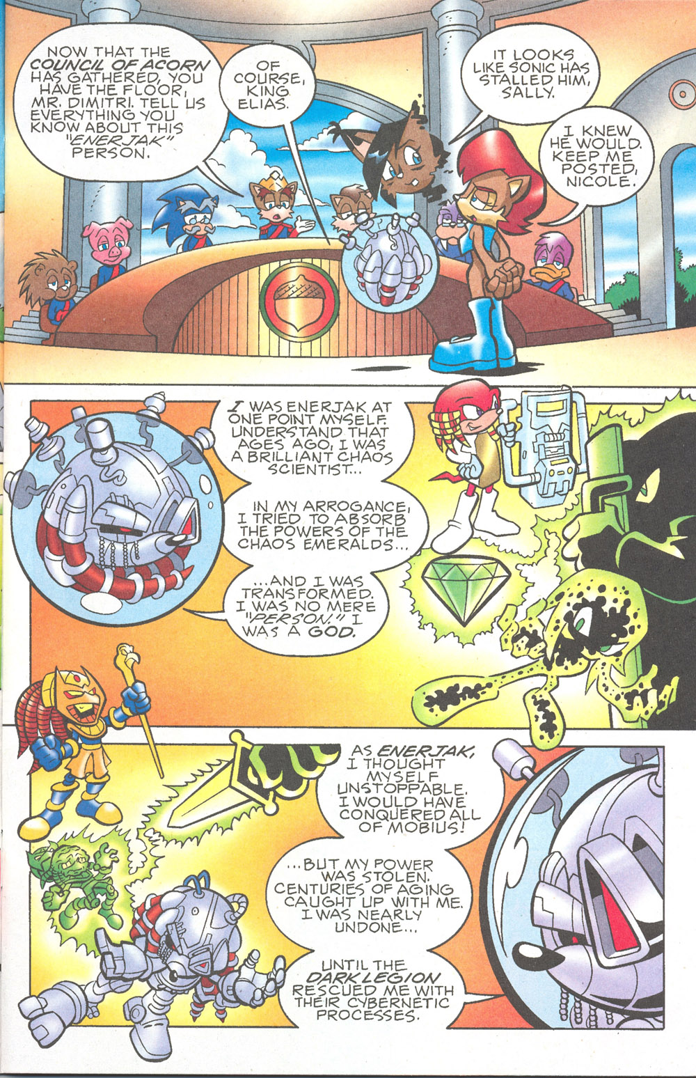 Read online Sonic The Hedgehog comic -  Issue #180 - 4