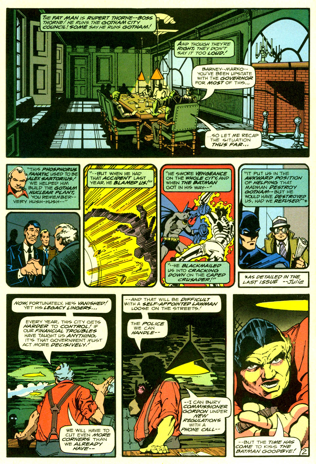 Read online Shadow of the Batman comic -  Issue #2 - 5