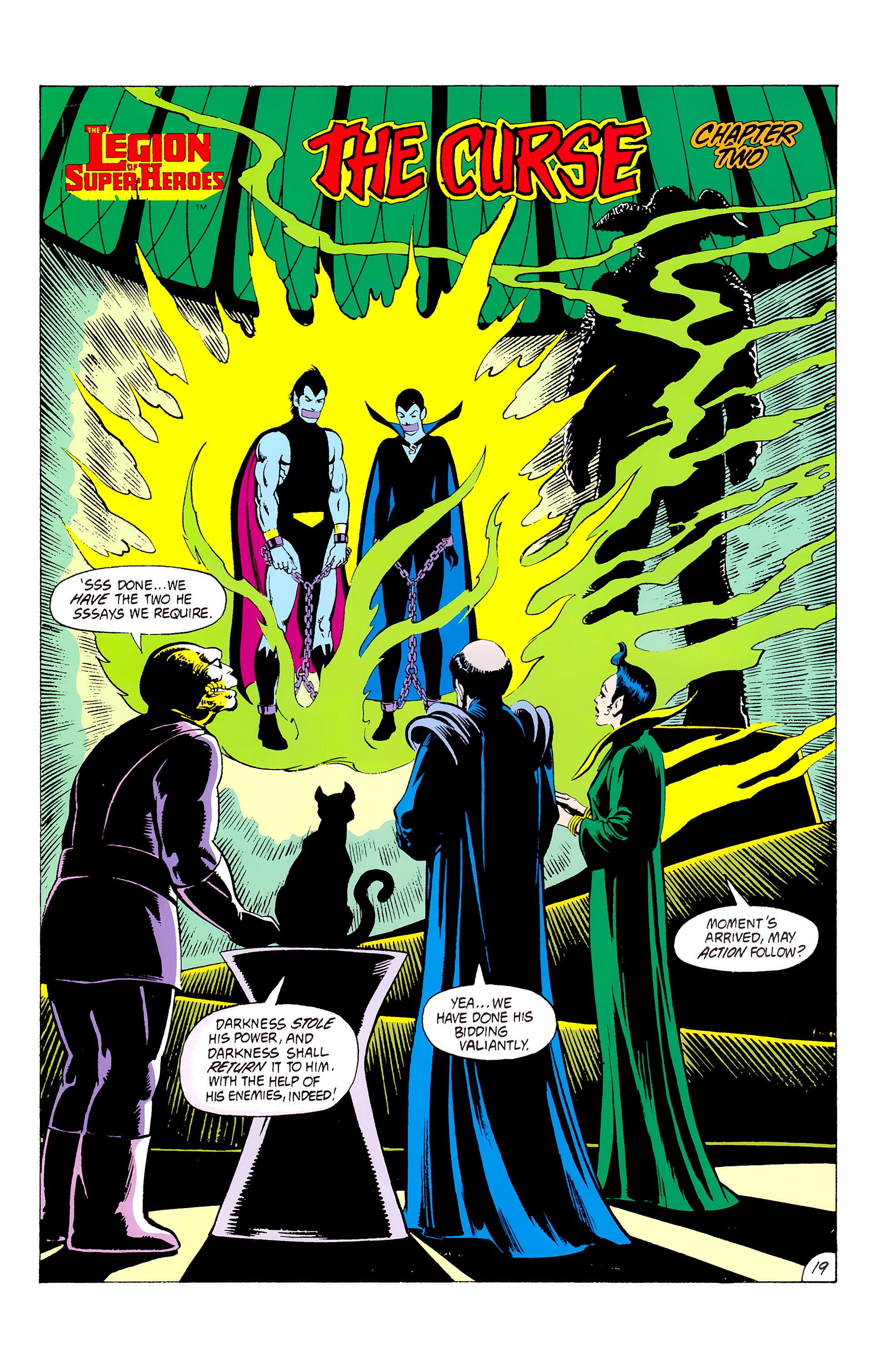 Legion of Super-Heroes (1980) _Annual_3 Page 19