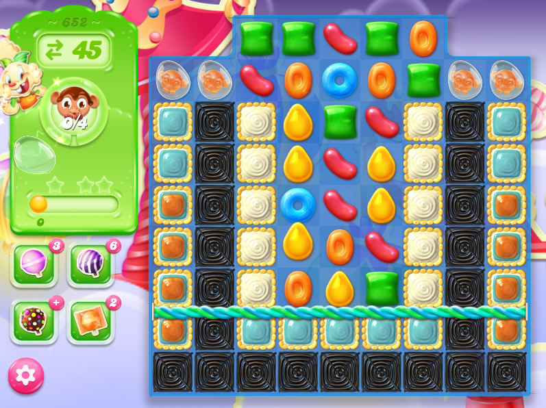 Candy Crush Jelly Saga level 652
