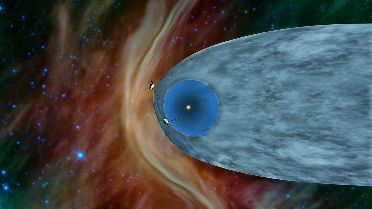The Agatelady: Adventures and Events: Voyager 1 has left ...