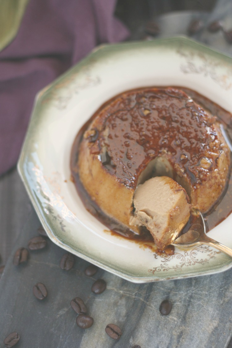 Burnt Coffee Flan | Pan's Labyrinth #FoodnFlix