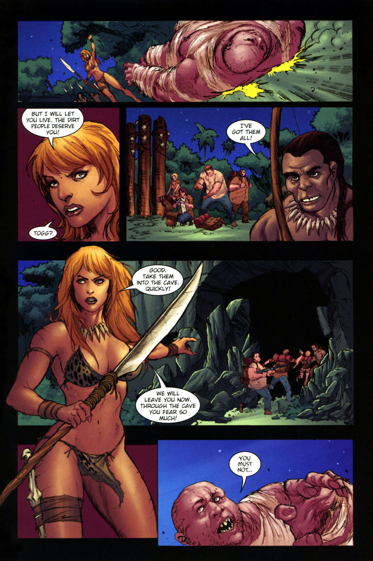 Read online Jungle Girl comic -  Issue #4 - 12