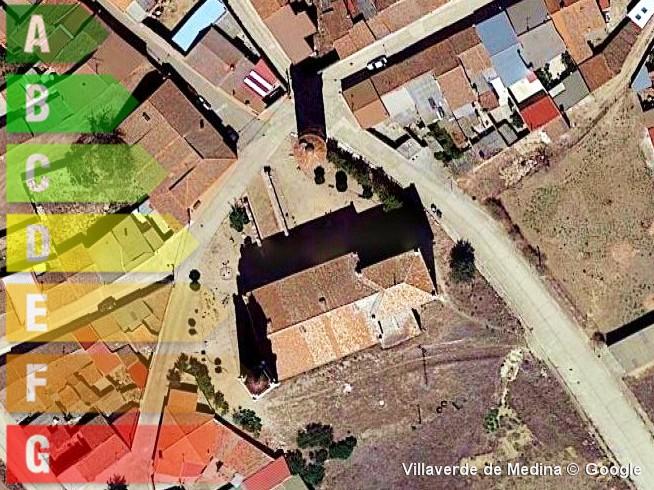 certificado energetico de vivienda y local en villaverde de medina