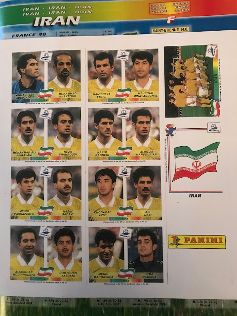 Figurine Iran Francia '98