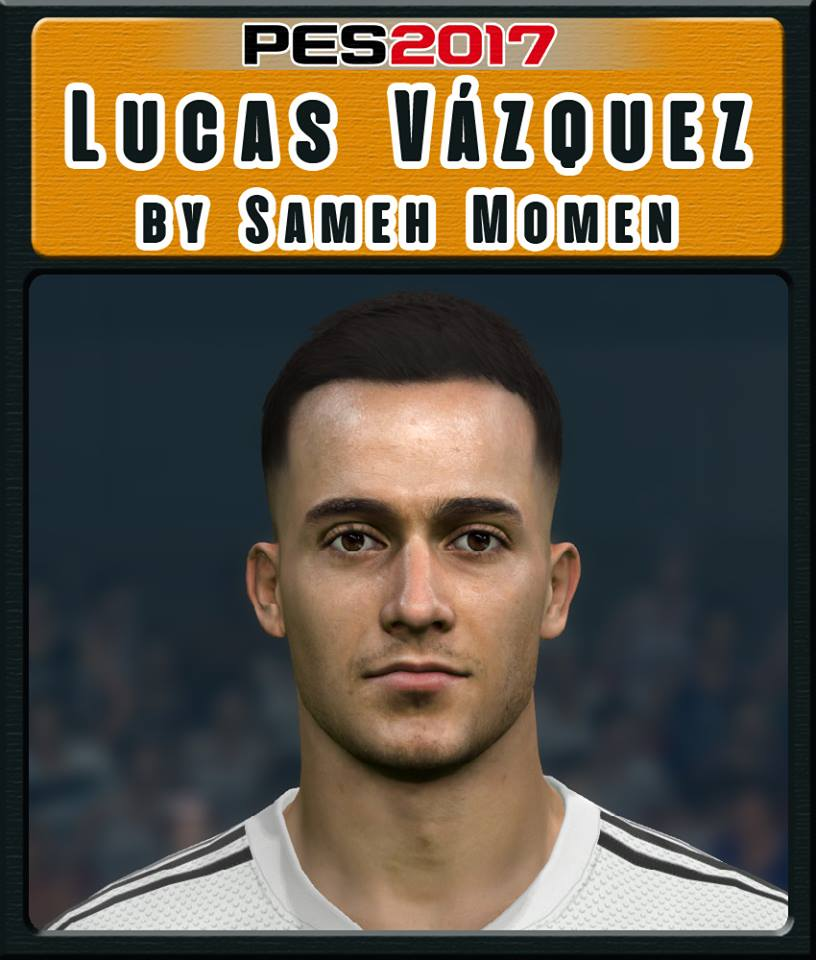Pes 2019 Faces Lucas Moura By Hugimen: Ultigamerz: PES 2017 Lucas Vázquez (Real Madrid) Face 2019
