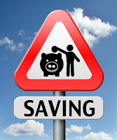 savings road sign
