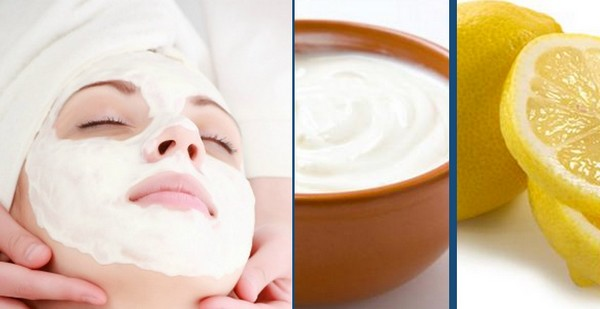 Lemon Juice and Plain Yogurt Face Mask | The Girls Beauty Bible