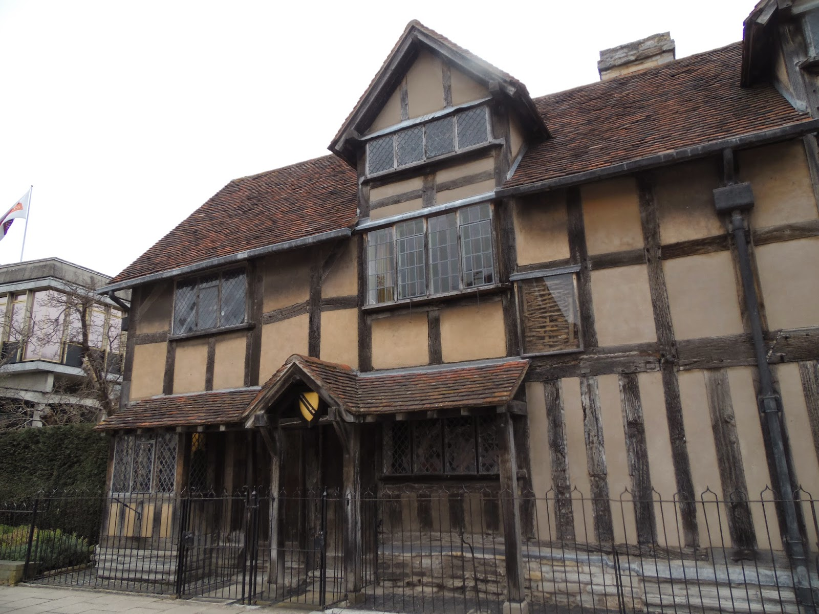 A day in Shakespeare's place