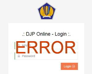 Solusi Error DJP Online SO001 NPWP Tidak Ditemukan Saat Login DJP Online