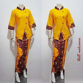 Toko Batik Bagoes Online Model Batik Dress Maheswari