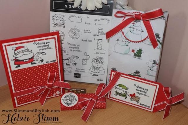 Signs of Santa by Stampin Up