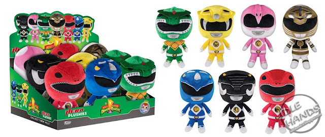 Toy Fair 2017 Funko Mighty Morphin Power Rangers Plush