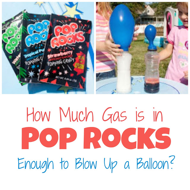 How to See the Gas Contained in Pop Rocks