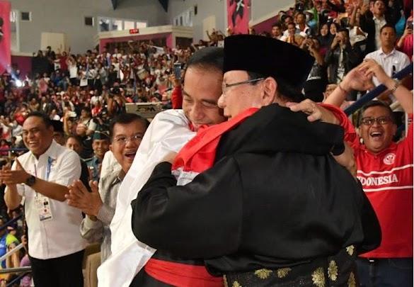 Ini Alasan Hanifan Peluk Jokowi-Prabowo