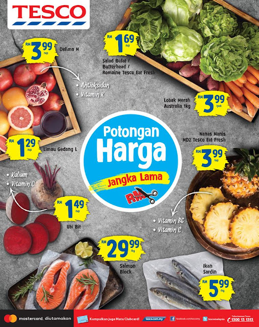 Tesco Malaysia Weekly Catalogue Discount Promo