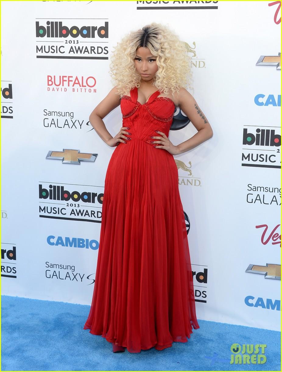 Billboard Music Awards 2016 The Best Hair And Makeup: Celeb Diary: Nicki Minaj @ 2013 Billboard Music Awards